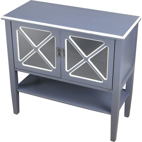 AA Importing 2 Door Cabinet with Shelf by AA Importing