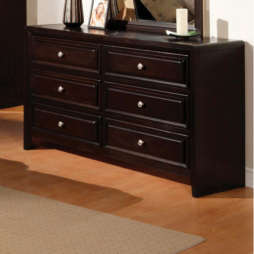 Hokku Designs Winsor 6 Drawer Double Dresser