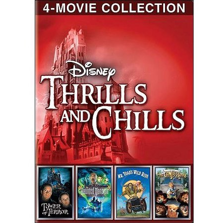 Disney Thrills And Chills  The Haunted Mansion   Tower Of Terror   Mr  Toads Wild Ride   The Country Bears