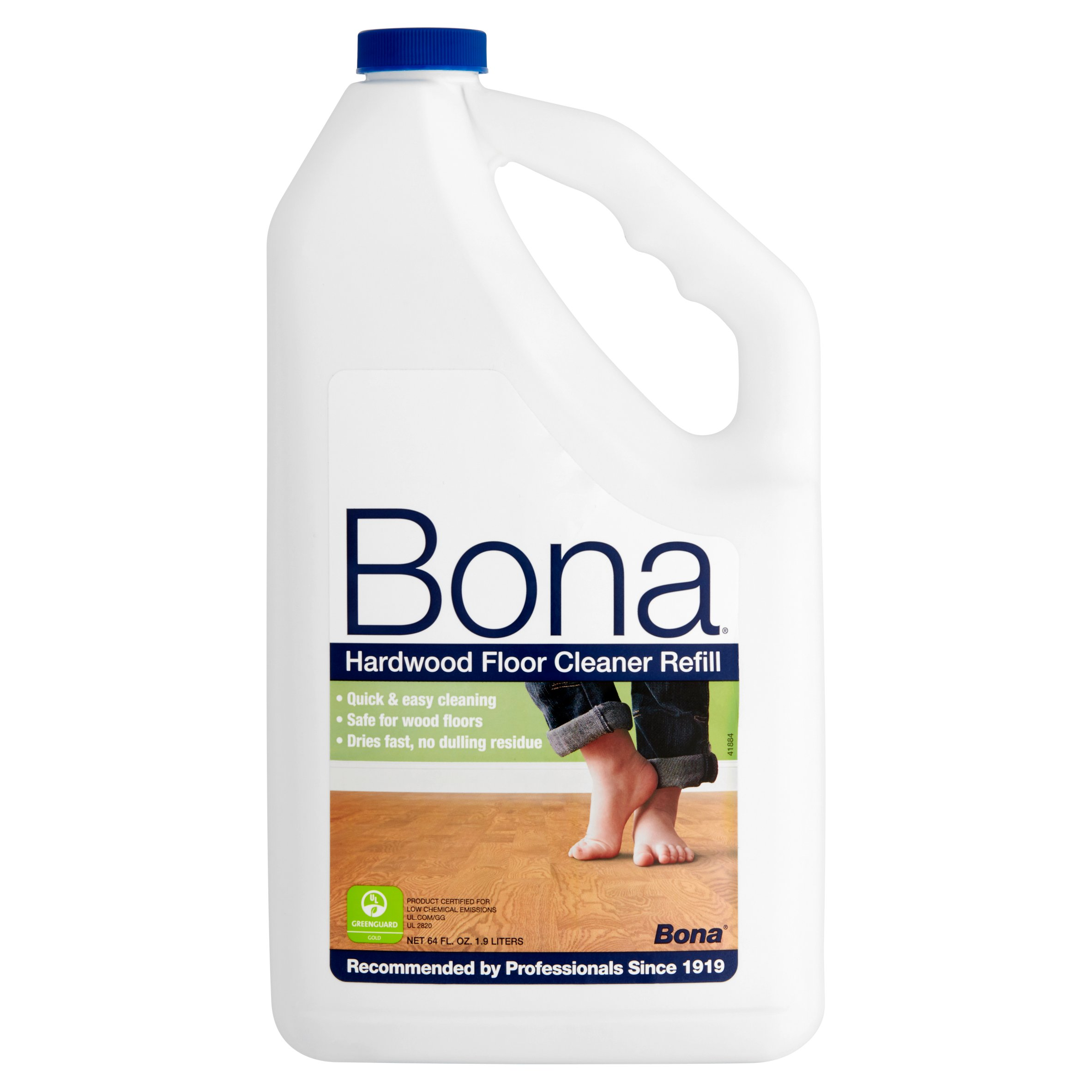 bona swedish formula hardwood floor cleaner, 64 oz - walmart