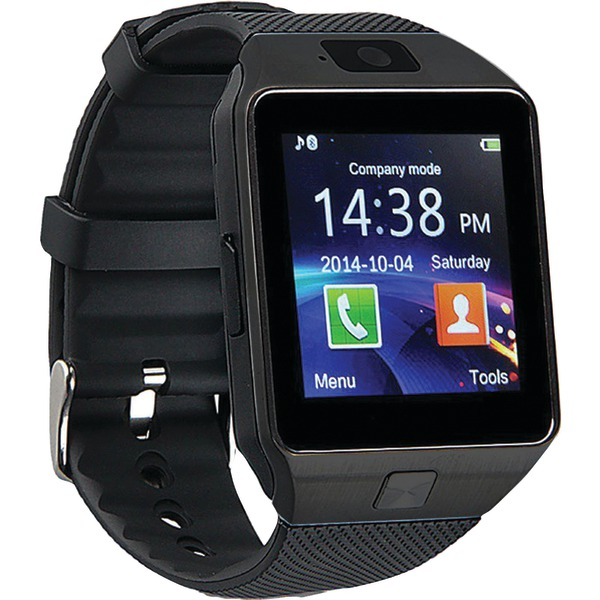 Proscan PBTW360-BLACK Bluetooth Smartwatch