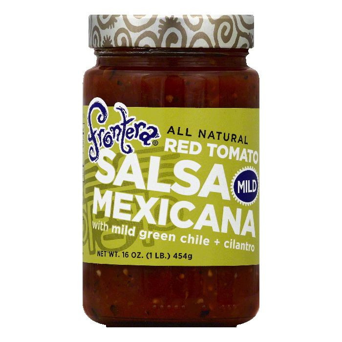 Frontera Mild Red Tomato Mexicana Salsa, 16 OZ (Pack of 6)