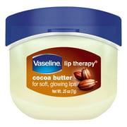 Vaseline Lip Therapy Cocoa Butter Lip Balm Mini, 0.25 oz