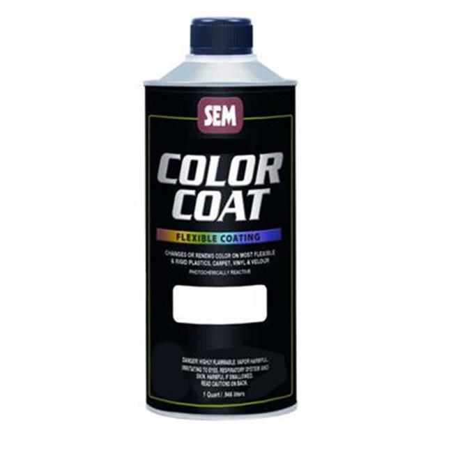 SEM Products 15506 Color Coat- Red Oxide- Cone Top Quart
