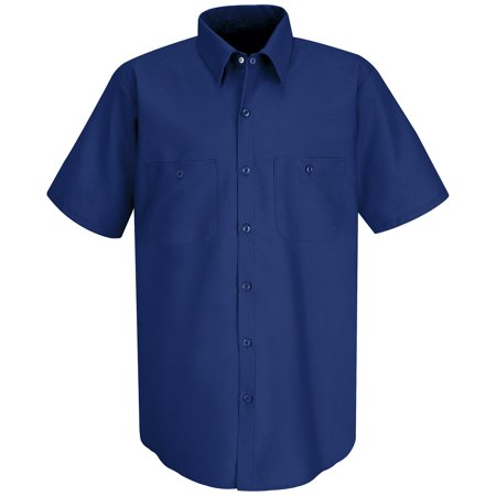 Red Kap Long Sleeve Work Shirt (Red Kap Men's Short Sleeve Industrial Work Shirt )