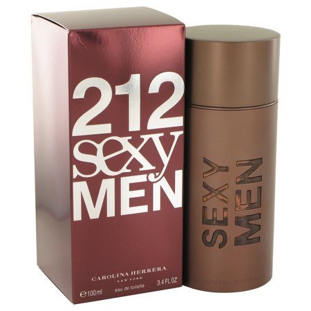 Carolina Herrera 212 Sexy Eau De Toilette Spray for Men 3.3 oz