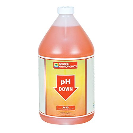 General Hydroponics pH Down Liquid Fertilizer,