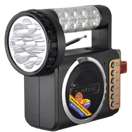 QFX Radio with USB and Flashlight (Halloween Radio Spot)