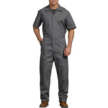 Men's Short Sleeve Deluxe Poplin - Owl Coverall
