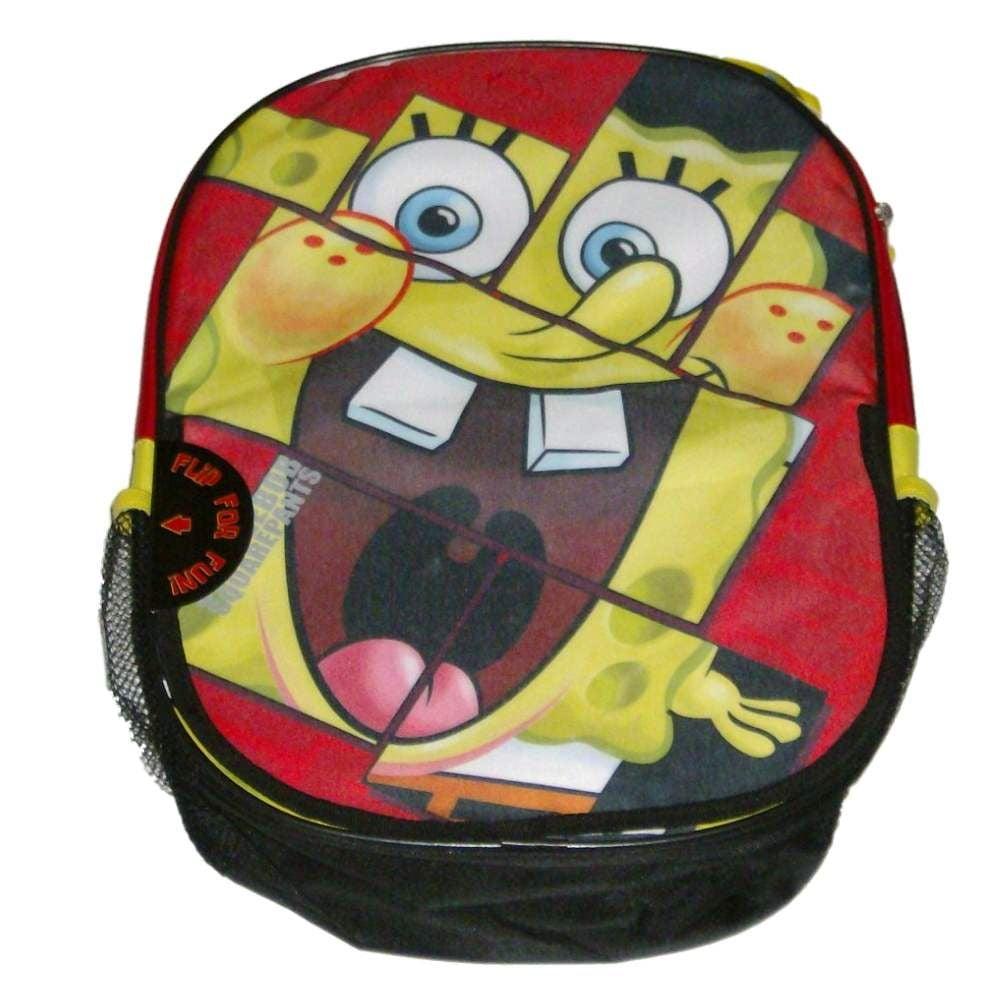 Spongebob Look Ma No Pants Backpack Kids Travel Flip For Fun Back Pack by