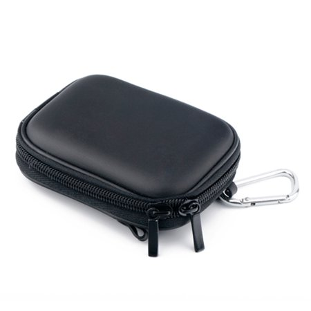 HDE Black Universal Camera Case Shock Absorbant Hardcase for Nikon Coolpix, Canon Powershot, Sony Cybershot, and many