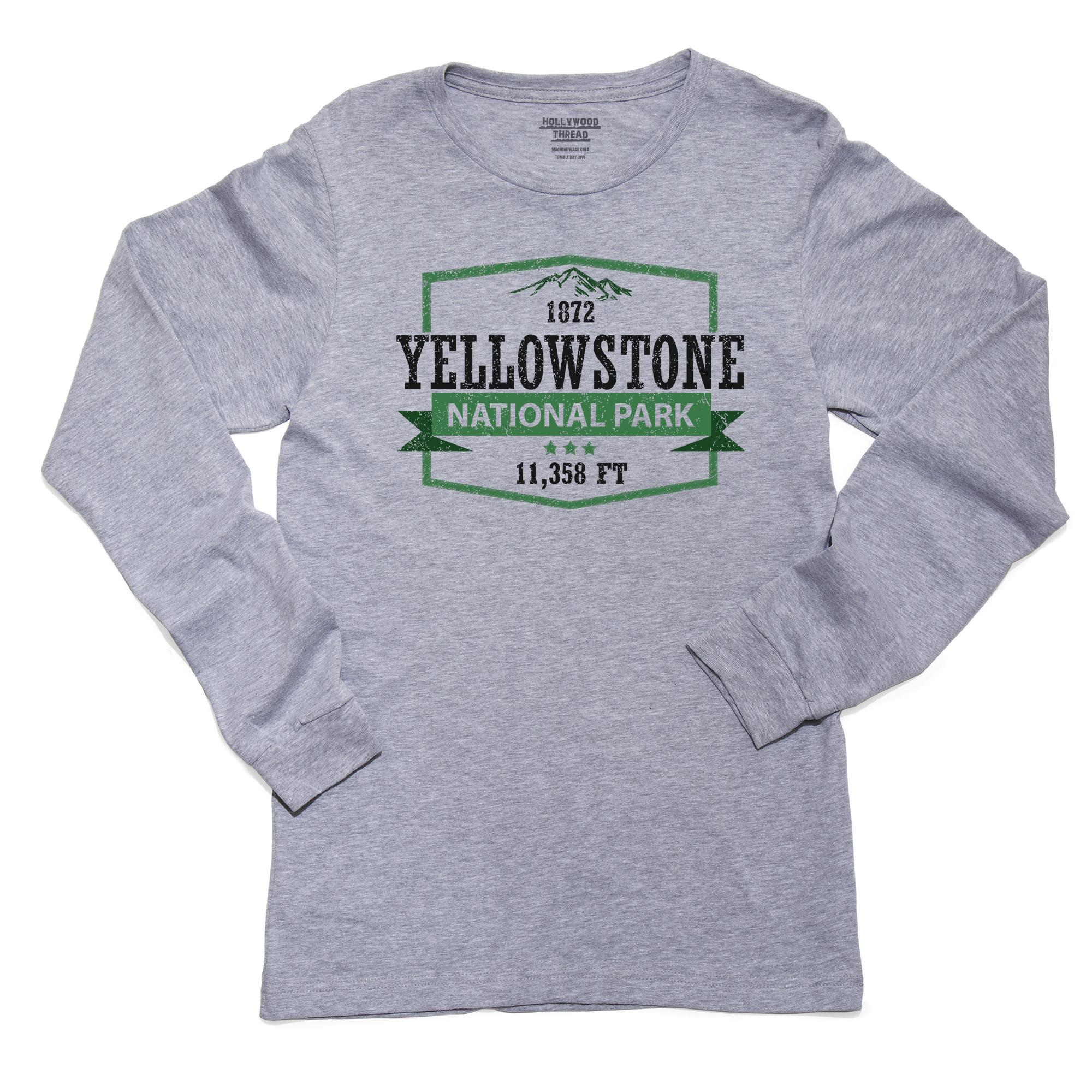Yellowstone National Park Newborn Baby Long Sleeve Bodysuits Rompers Outfits