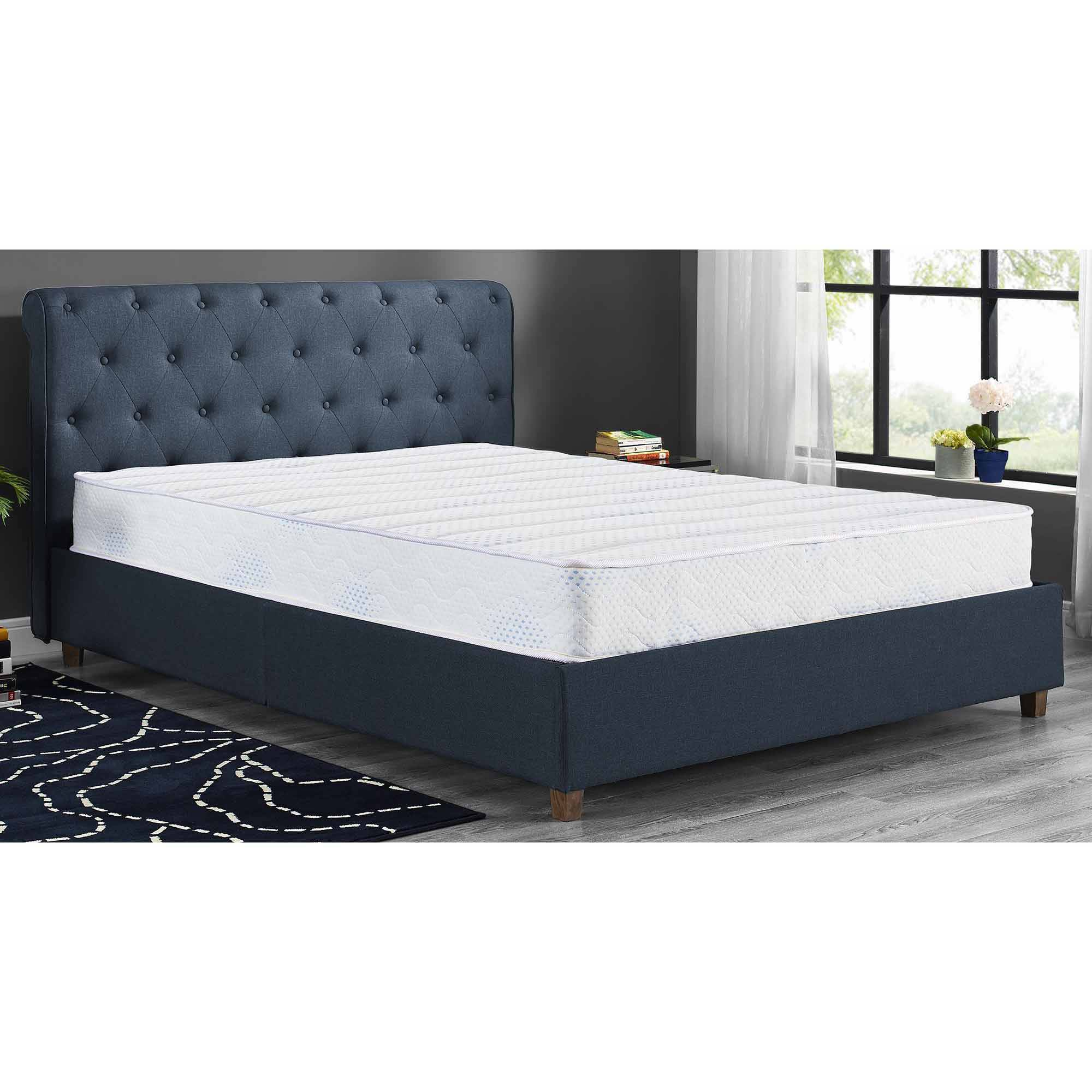 "Mainstays 8"" Independently Encased Coil Mattress, Multiple Sizes"