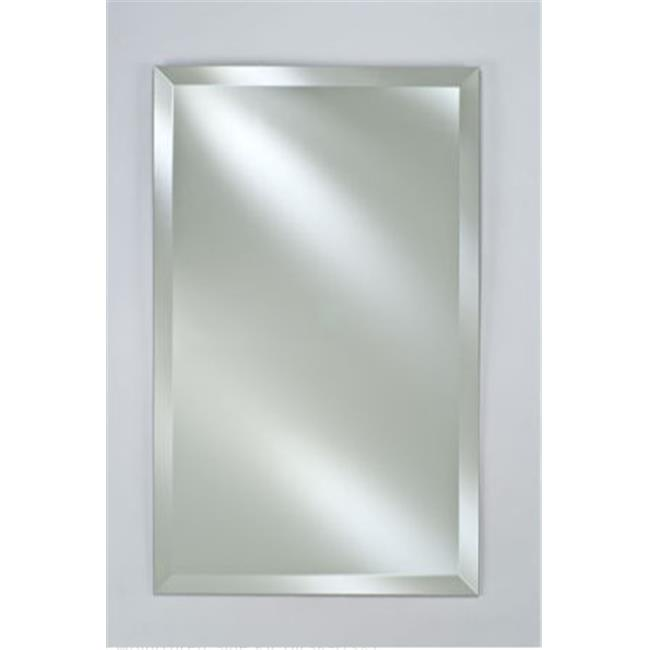 A Plus Thing Of Frameless Mirror Afina Corporation SD1622RBSXFB 16 in.x 22 in.Single Door Basix Plus  Medicine Cabinet - Frameless Beveled - Walmart.com