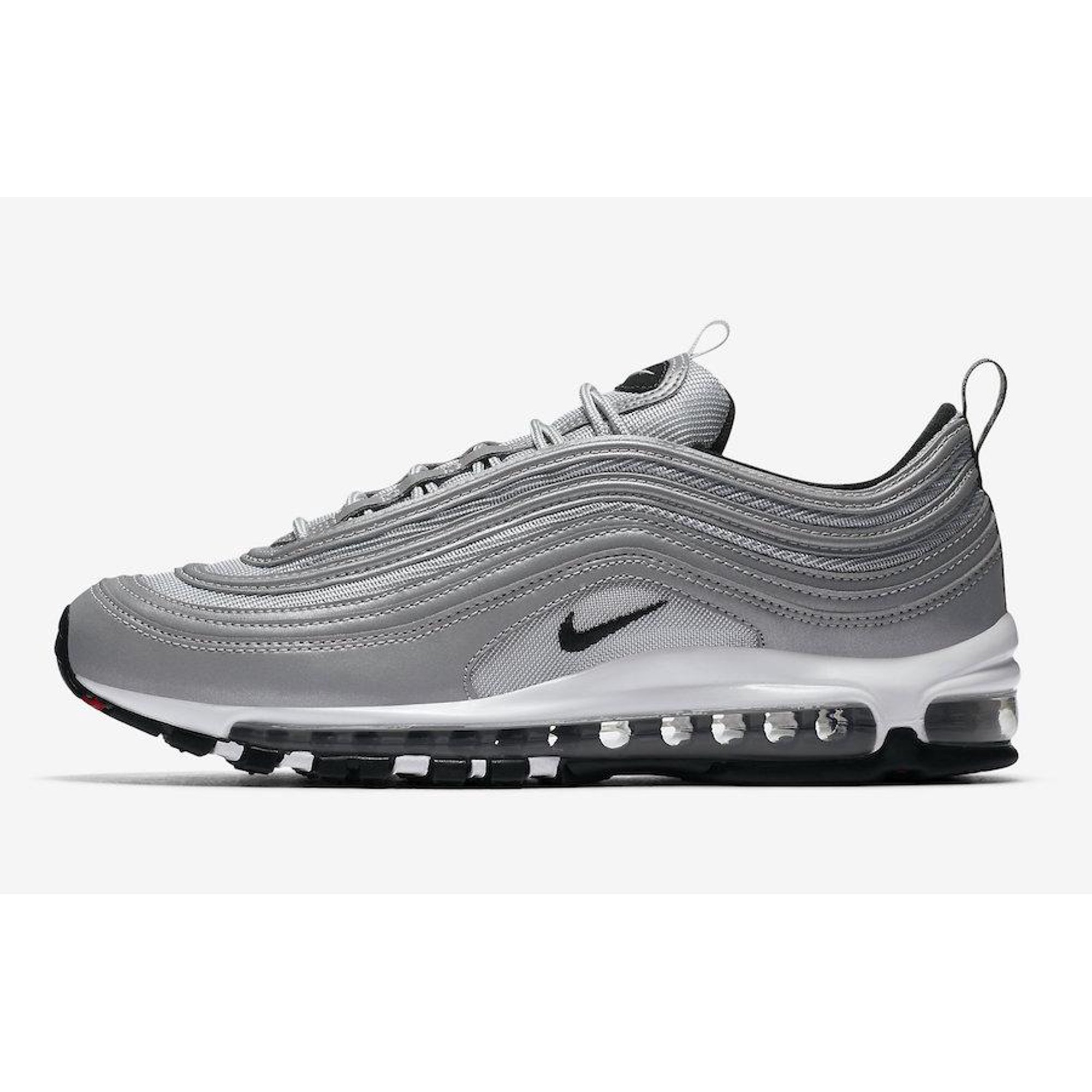 651d0ddfdf Mens Nike Air Max 97 Premium Reflect Silver Pure Platinum Wolf Grey Bl