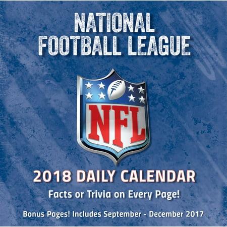 Turner Sports Nfl All Team 2018 Box Calendar