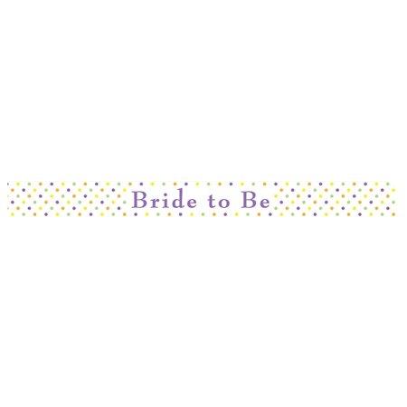 Bride to Be Sash - Creative Halloween Customs