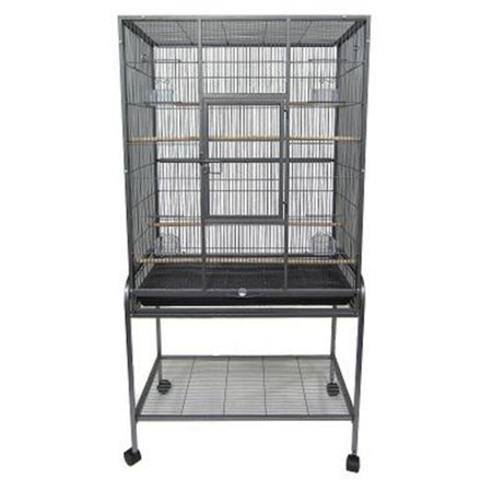 YML 1/2 in. Bar Spacing Aviary Cage with Stand - 31L x 19W x 61H in.