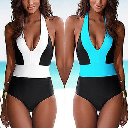 Swimsuit Women One Piece Plus Size Swimwear One Piece Bathing Suits Large Bust