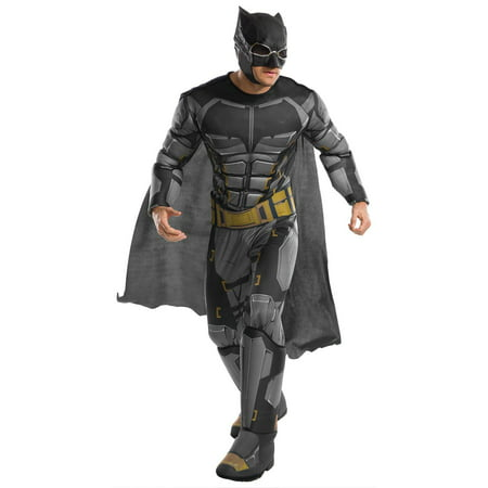 Justice League Movie - Tactical Batman Deluxe Adult Costume XL (Batman Onesies For Adults)
