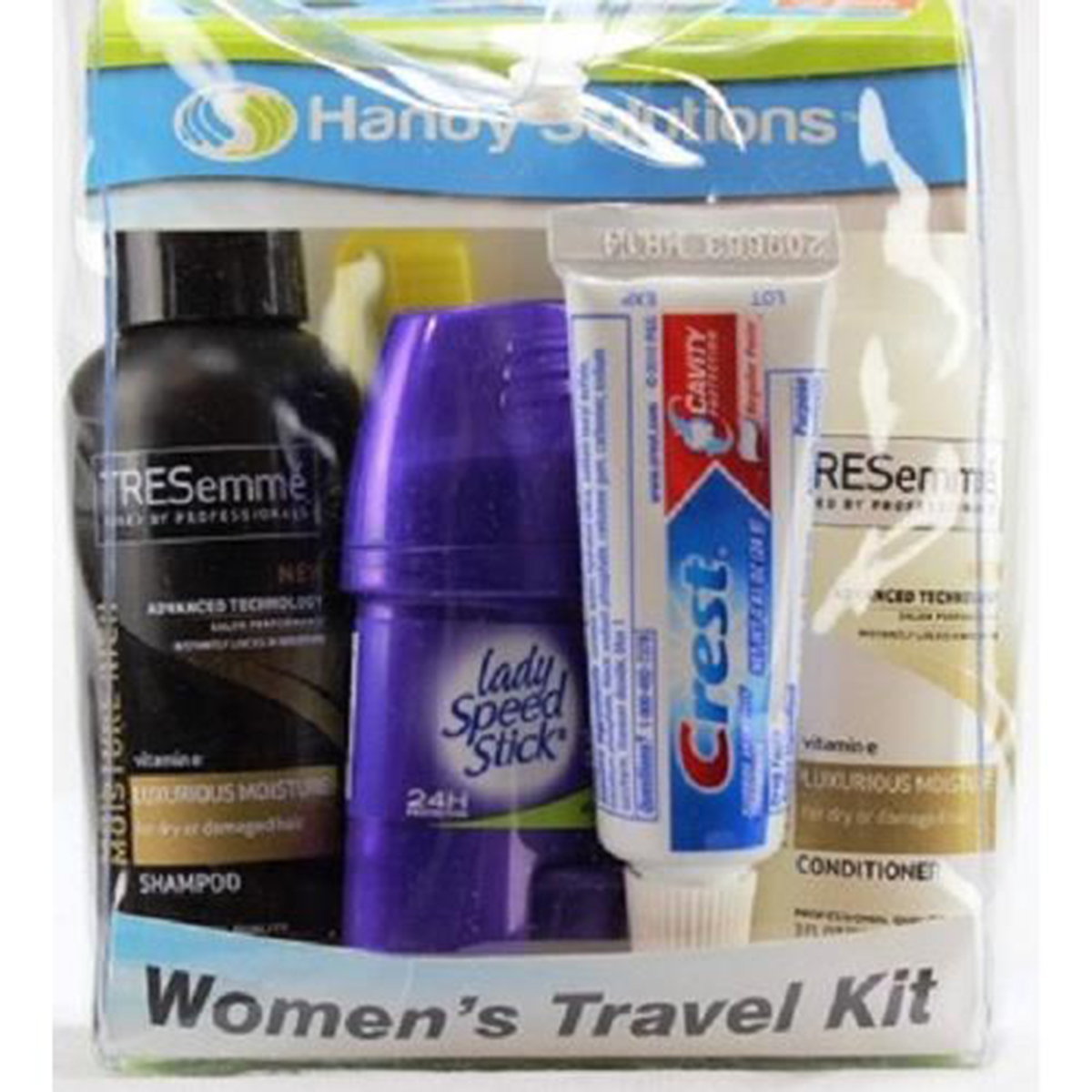 Product Of Handy Solutons, Travel Kit - Womens, Count 1 - Travel Supplies / Grab Varieties & Flavors