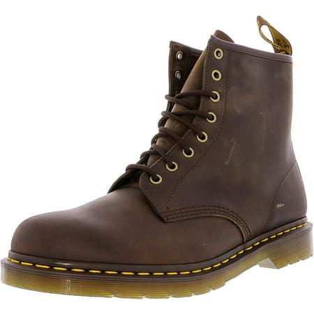 Mens Triumph 1460 Boot - Dr. Martens Men's 1460 Crazy Horse Gaucho High-Top Boot - 12M