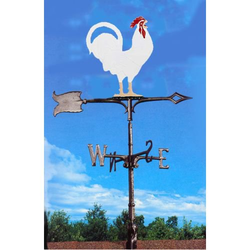 Painted Rooster Weathervane