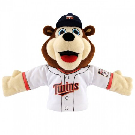 new products 77e9b f2e16 MLB Minnesota Twins TC Bear Mascot Hand Puppet