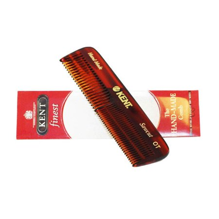 Kent  The Hand Made Comb for Men Coarse/Fine 4 -inches Pocket Comb ()
