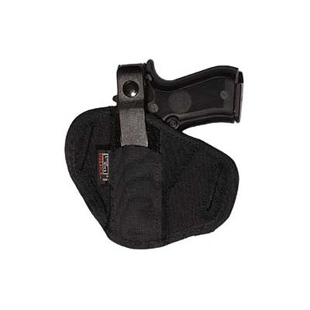 - UNCLE MIKES BELT SLIDE HOLSTER 1 BLACK LAMINATE