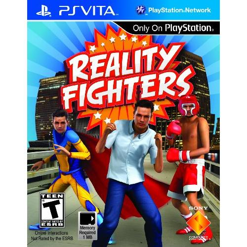 Sony Reality Fighters - Fighting Game - NVG Card - PS Vita - English