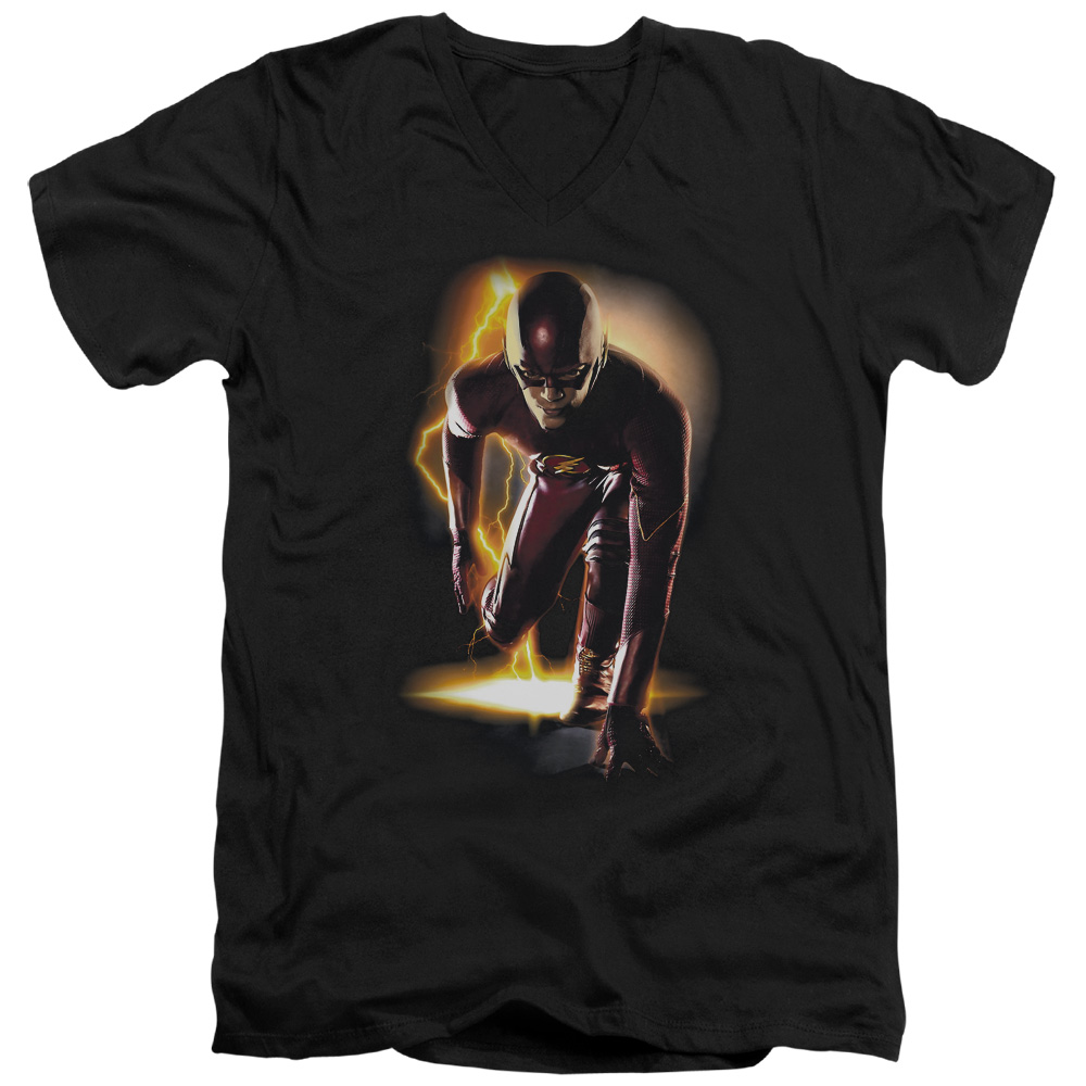The Flash Ready Mens V-Neck Shirt