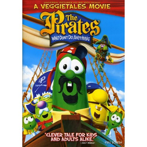 The Pirates Who Don't Do Anything: A Veggie Tales Movie (Full Frame)