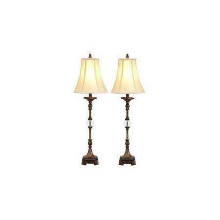 Aspire Home Accents 49961 Pax Buffet Lamp (Set of 2)
