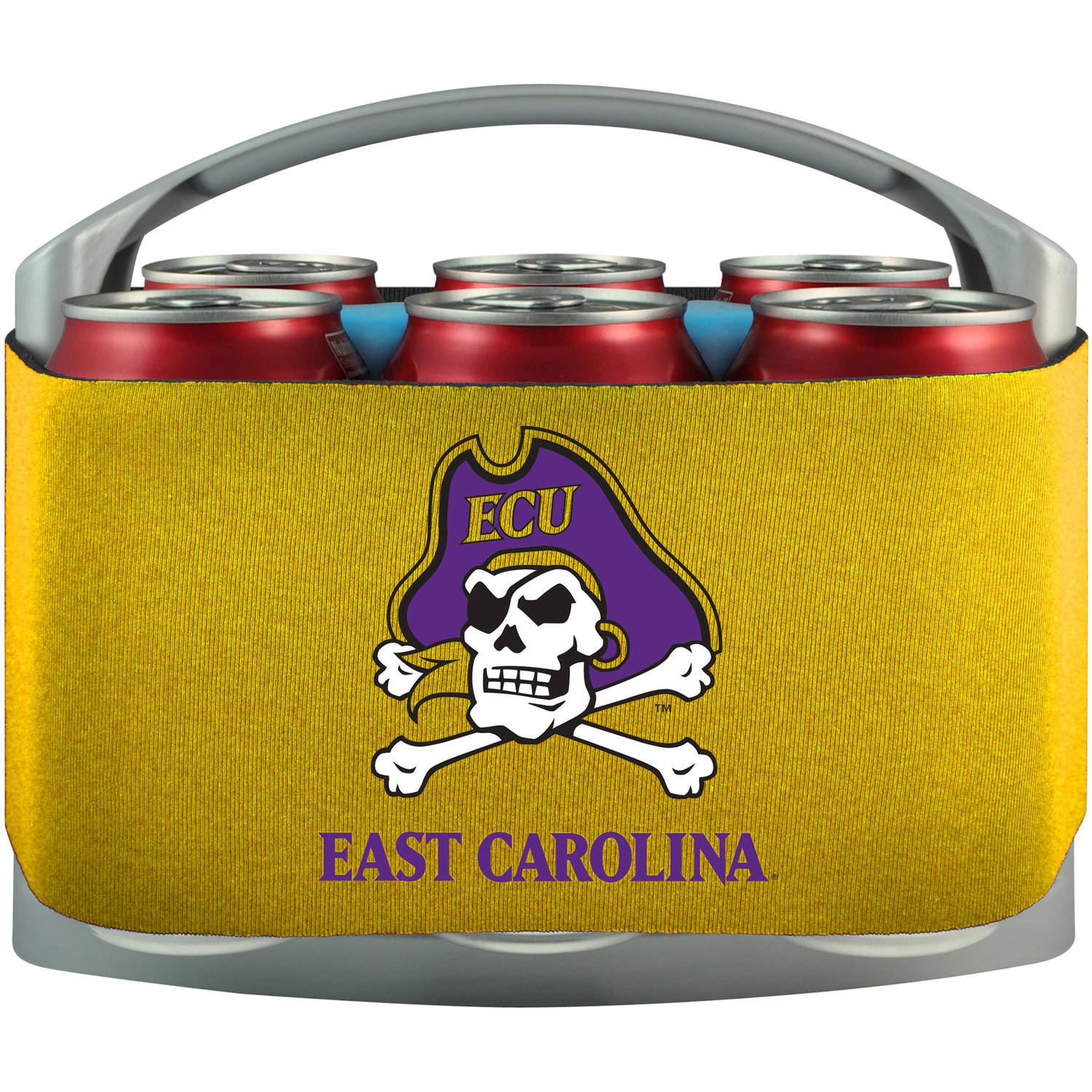 NCAA Eastern Carolina Pirates Cool 6 Cooler