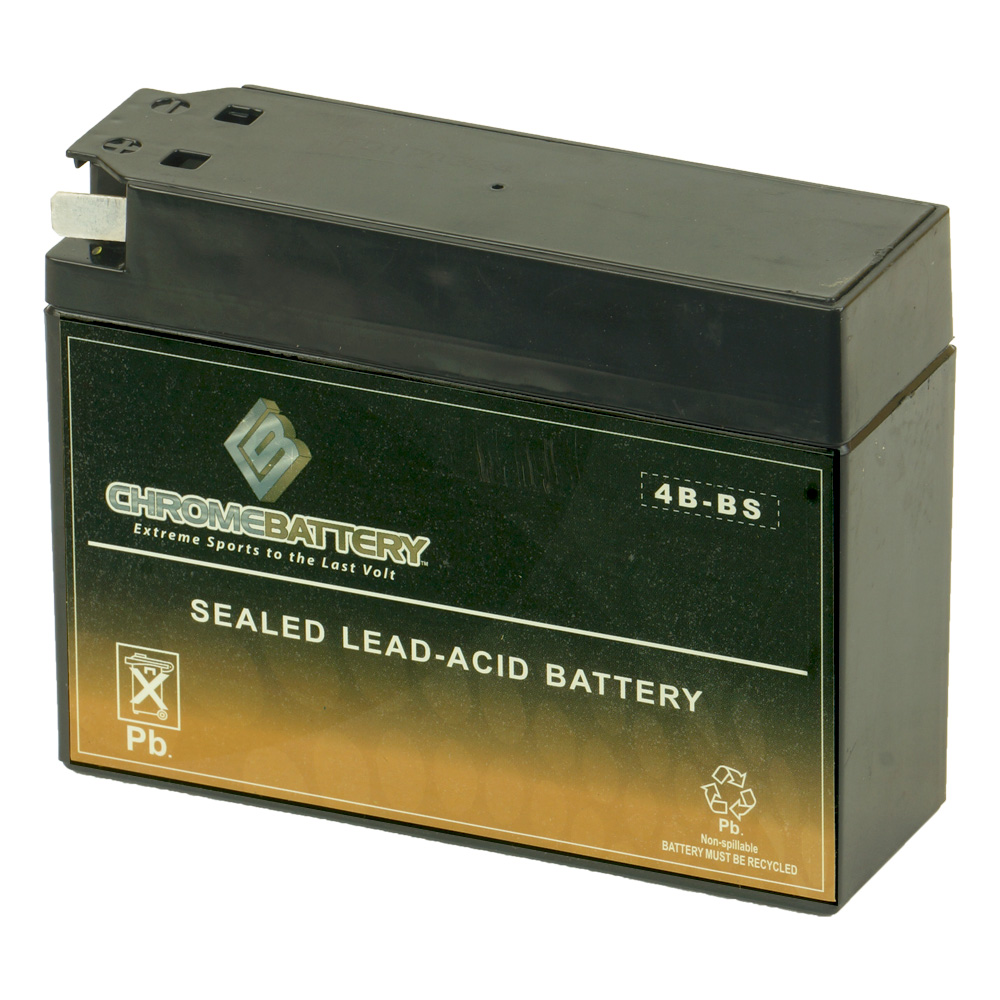 YT4B-BS High Performance - Sealed AGM Motorcycle Battery for 2006 Yamaha TTR 50E