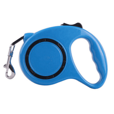 Juslike Nylon Retractable Dog Leash Rope for Small Medium Large Dog Cat Retractable Dog Leashes Cat Lead Pet Leash Collar Blue (Pit Collar Leash)