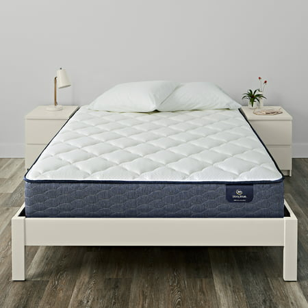 Serta Sleeptrue Malloy Plush Queen Mattress Set