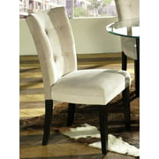 Matinee Parsons Chair Upholstered in Beige - Set of 2