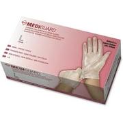 Medline, MII6MSV513, MediGuard Vinyl Non-sterile Exam Gloves, 150 / Box, Clear