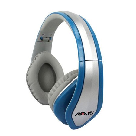 Axxis Headphone Stereo 1.5 Meter Wire, Foldable, Comfortable, Super Bass Sound Quality, Noise Cancel, Hands Free Button and Mic. Cord,