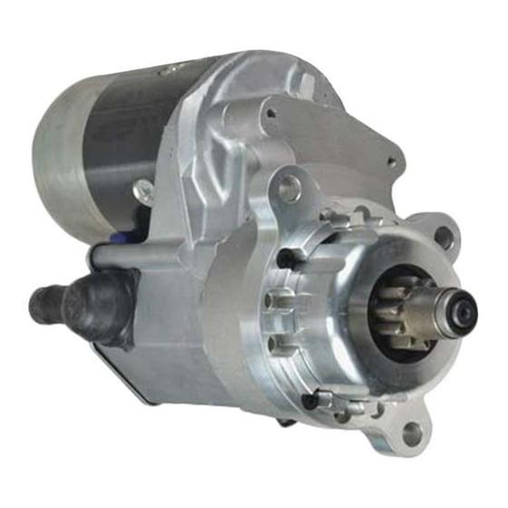 NEW 12V IMI STARTER FITS CASE LIFT TRUCK 586D POWER UNIT 188D 188 DIESEL  1044307 104198A2 A39839 A47460 1109143