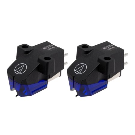(2) Audio-Technica AT-XP3 - DJ Phonograph Cartridges (Twin Set) / Authorized -