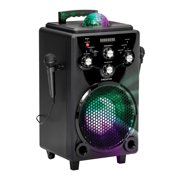 Singsation SPKA75 Bravo All-In-One Karaoke Party System With Bluetooth And 2 Microphones