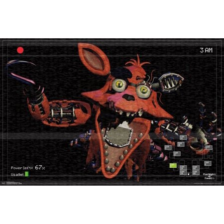 Five Nights At Freddys - Foxy Camera Poster Poster Print ()