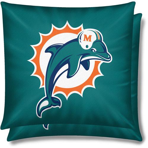 NFL 2pk Pillow Set, Miami Dolphins