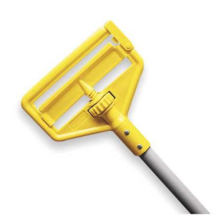 "RUBBERMAID Wet Mop Handle,Side Gate,54""L FGH115000000"