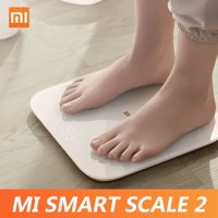 Xiaomi Mi Smart Body Balance Test Body Composition Scale APP Monitor Hidden LED Display Digital Fitness Scale