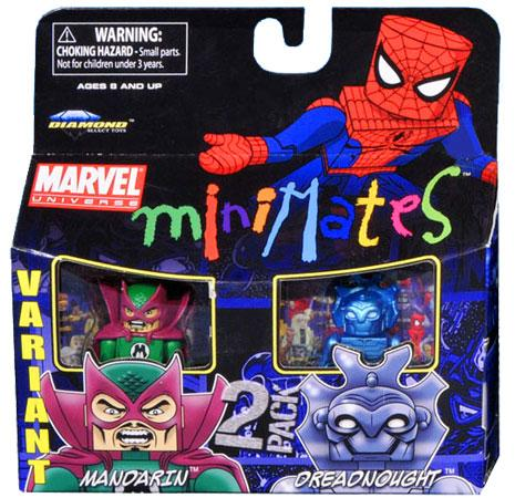 Marvel Minimates Series 36 Mandarin & Dreadnought Minifigure 2-Pack [Variant]