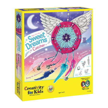 Child Sweet - Make Your Own Sweet Dreams Catcher - Craft Kit by Creativity For Kids (1147)